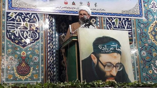 مراسم سالگرد شهادت اولین دادستان گیلان در لاهیجان برگزار شد