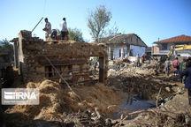 ۱۷۰ خانوار سیلزده شرق مازندران کمک بلاعوض دریافت کردند