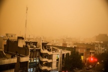 توفان شدید تهران را در نوردید