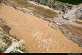 بارش 33 میلیمتر باران به همراه تگرگ در دیباج