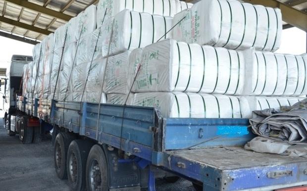 محموله 4 میلیارد ریالی کاغذ دیواری قاچاق در بندرعباس کشف شد