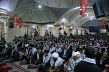 همایش بزرگ بسیجیان قزوین برگزار شد