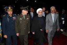 رئیس جمهور اسلام آباد را به مقصد تهران ترک کرد