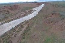 خبر جاری شدن سیل در شهرستان تاکستان تکذیب شد