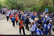 برگزاری همایش بزرگ پیادهروی خانوادگی در کرج