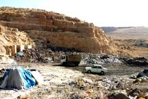 سایت موقت دفن زباله در فاریاب ایجاد شد