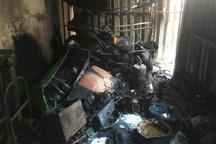 آتش سوزی یک کارخانه در تبریز سه مصدوم برجا گذاشت