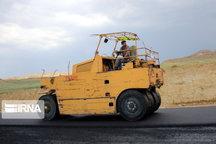 ۲۱۲ کیلومتر راه روستایی آذربایجانغربی در حال آسفالت است