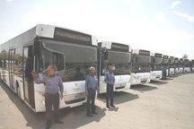 80 دستگاه اتوبوس به ناوگان درون شهری اصفهان افزوده شد
