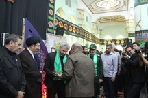 تجلیل از خانواده شهید حججی در دزفول