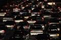 بارش باران و ترافیک سنگین درمحورهای ارتباطی البرز