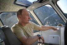 آلبوم تعطیلات پوتین+ تصاویر
