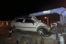 واژگونی خودرو در یاسوج یک کشته بر جا گذاشت