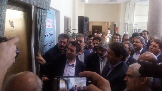 مرکز کسب و کار یزد با حضور وزیر صمت به بهره برداری رسید