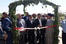 9 طرح عمرانی و خدماتی در شهرستان البرز به بهره برداری رسید