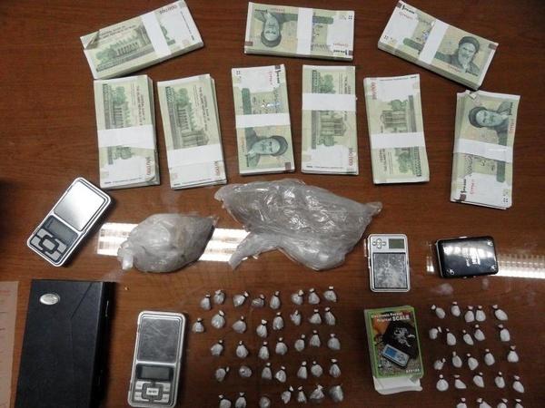 جاعل اسکناس و توزیع کننده مواد مخدر در البرز دستگیر شد
