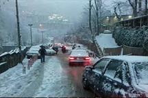بارش برف اکثر مدارس استان اردبیل را به تعطیلی کشاند