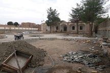 مرمت باغ و عمارت شوکت الملک رو به پایان است