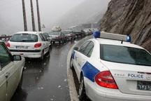 ضرورت داشتن تجهیزات زمستانی برای تردد در محورهای شرقی استان تهران