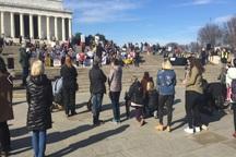 تظاهرات استیضاح ترامپ+ تصاویر