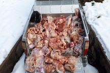 570 کیلوگرم مواد غذایی فاسد در دیواندره و بیجار کشف شد