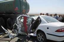حادثه رانندگی در لرستان سه کشته برجا گذاشت