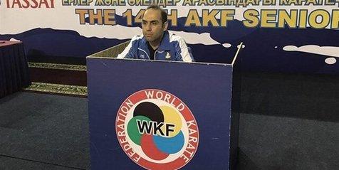 حسن روحانی جانشین برادرش در تیم ملی کاراته شد