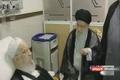 عیادت رهبر  انقلاب از آیت الله العظمی مکارم شیرازی