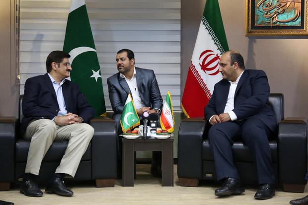 دیدار شهردار مشهد با سروزیر ایالت سند پاکستان
