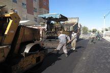 یک میلیون متر مربع از معابر شهر مشهد آسفالت شد