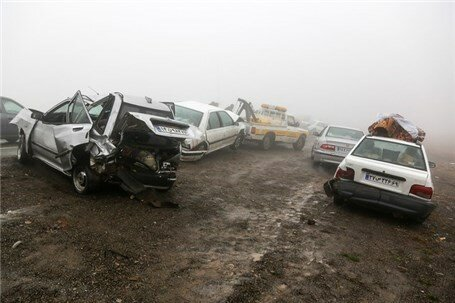 کاهش تلفات رانندگی در نوروز 98