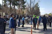 کشاورزان رابر خواستار توقف پروژه انتقال آب کرمان شدند