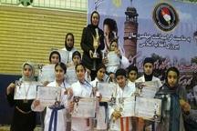 تیم کاراته دختران میاندوآب نایب قهرمان مسابقات کشور شد