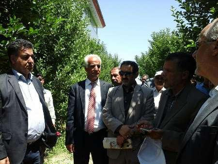 شرکت آلمانی برای افزایش گستره باغ های خراسان شمالی اعلام آمادگی کرد