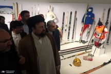 بازدید یادگار گرامی امام از موزه ورزش+ ویدیو و عکس ها