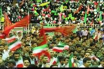 تجمع بزرگ گردان های بسیجی در بندرعباس