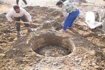2 حلقه چاه غیرمجاز در شهرستان ری مسدود شد