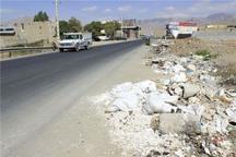 استاندار قزوین برای پاکسازی زباله در حاشیه جاده ها دستور داد