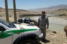 سه صیاد غیرمجاز در رودخانه زال پلدختر دستگیر شدند