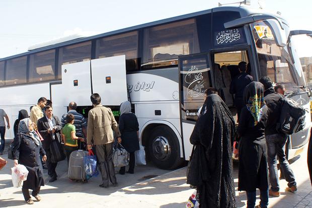 بیش از 135 هزار مسافر در کردستان جابجا شدند