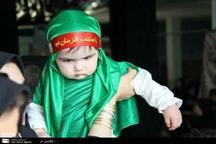 همایش شیرخوارگان حسینی در قصرشیرین برگزار شد