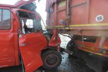 تصادف در جاده پلدختر - خرم آباد 2 کشته و 18مجروح برجا گذاشت