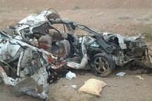 تصادف خونین در سیستان و بلوچستان ۲ کشته و ۹ مجروح در پی داشت