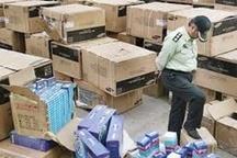توقف کالای قاچاق میلیاردی در زنجان