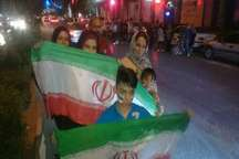 جشن و پایکوبی مردم اهواز پس از صعود تیم ملی فوتبال به جام جهانی 2018 روسیه