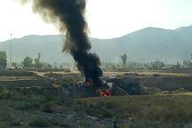 آتش زدن زباله شهری معضلی جدید در ایذه