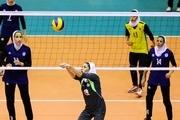 پایان مسابقات چهارجانبه والیبال بانوان شهرستان قزوین