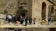 2 کشته و مجروح براثر سقوط سمند از پل بابازید پلدختر