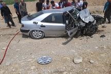 تصادف در جاده گچساران به دهدشت پنج کشته و 2 مصدوم بر جای گذاشت