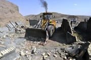 35 هکتار از اراضی ملی در پاسارگاد رفع تصرف شد